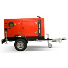 Diesel Generator HHW 35 T5 by Road Trailer